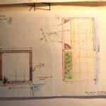 Edible Garden Design – Arbor sketch
