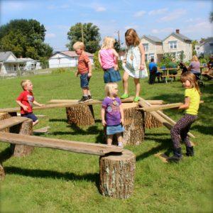 Portland Plays - stump construction