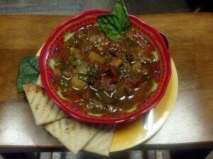 Ratattouille soup 8-20-15