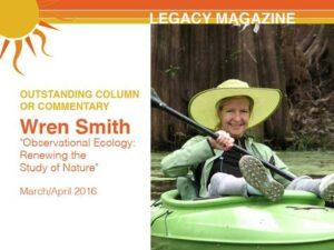 Wren Smith wins (another!) award