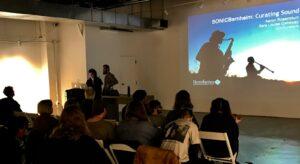 SONICBernheim co-curators speak at Kentucky College of Art & Design