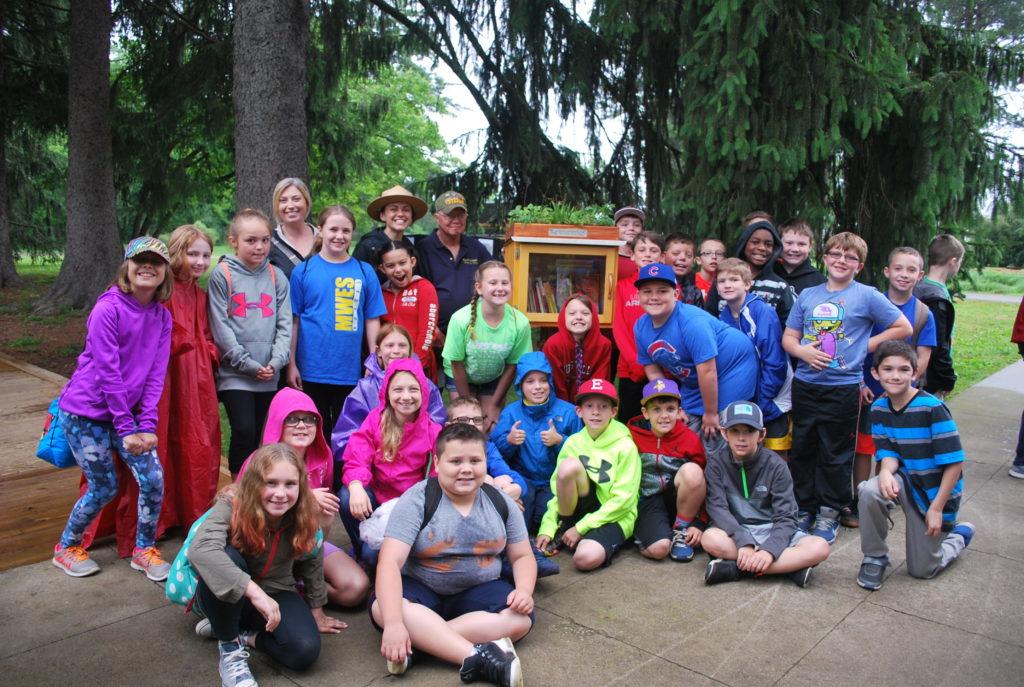 Bernheim's LITTLE Free Library earns a BIG honor