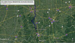 Athena Heads South Across Indiana Directly Toward Bernheim