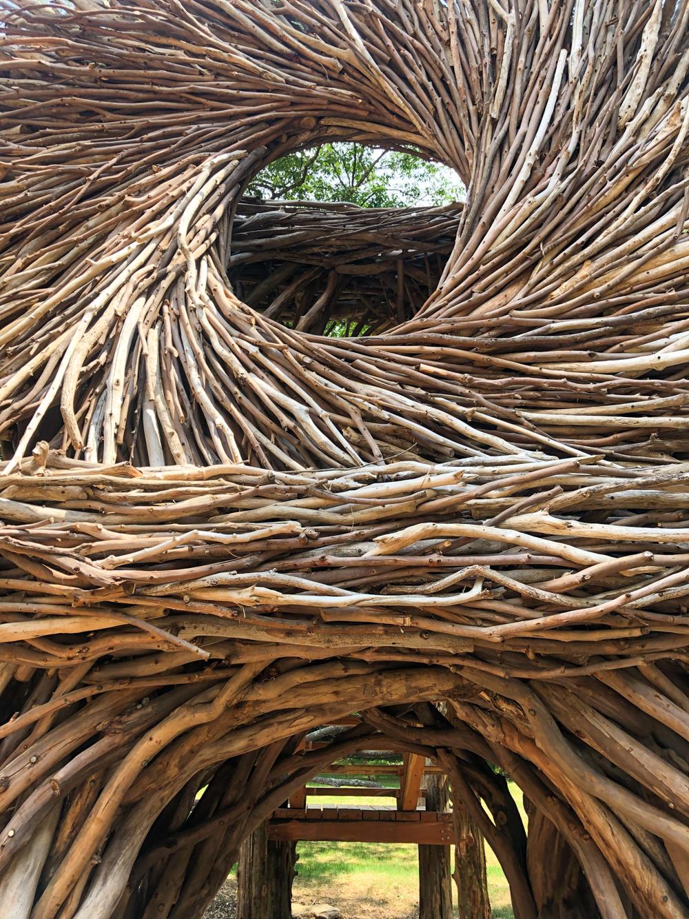 The Story of Wood at Bernheim's Spirit Nest